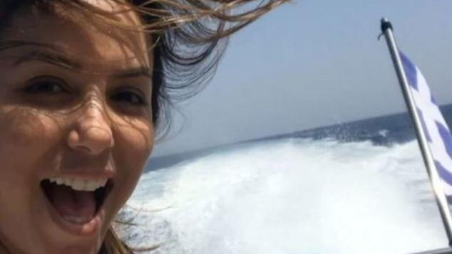 Eva Longoria από την Ελλάδα