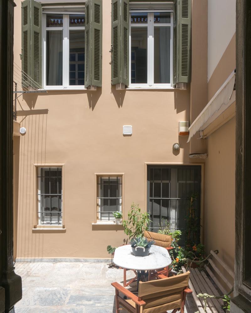Ο ιταλικός αέρας σε σπίτι της Πλάκας