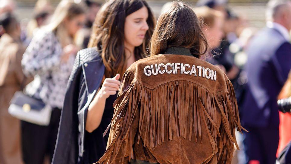 Καμία δεν έχει κρατήσει ακόμα τη νέα τσάντα Gucci. Αλλά τελικά θα τη  φορέσουν όλες.   Fashion   Woman TOC 789fcf985d0
