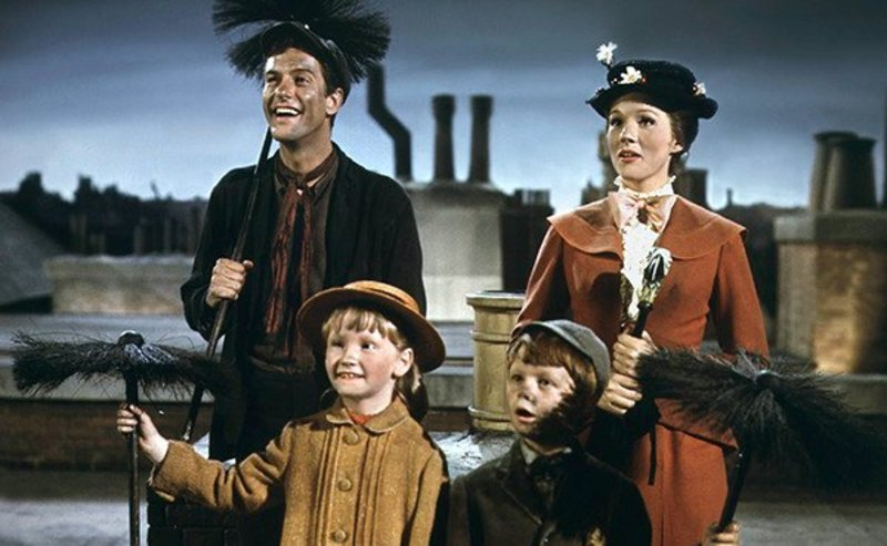 Image result for mary poppins original cast
