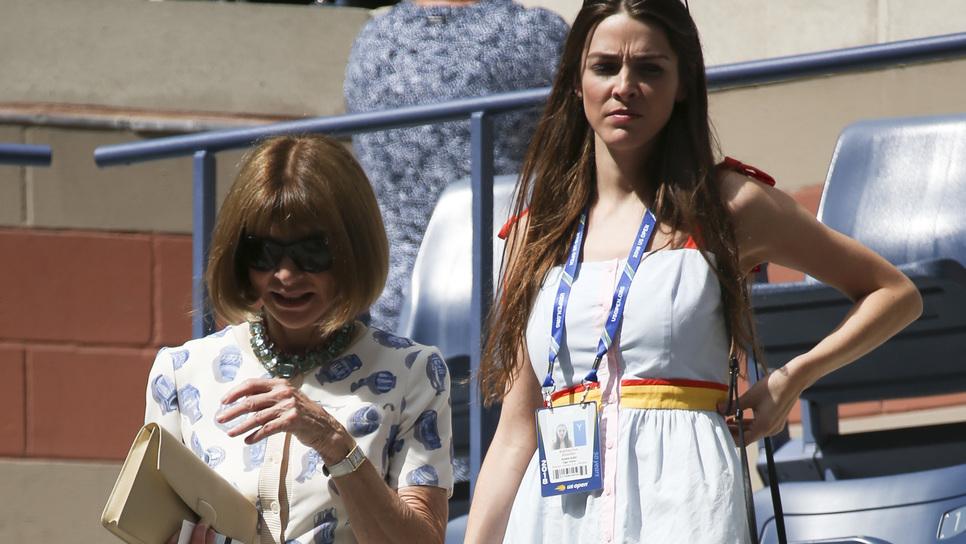 Άννα Γουίντουρ και κόρη σετάρουν τις εμφανίσεις τους