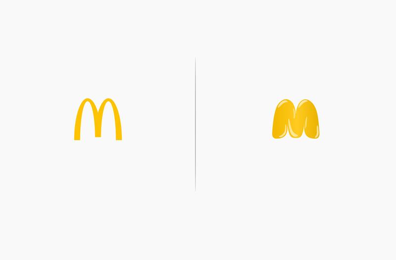 10 διάσημα λογότυπα υπό την επίδραση των προϊόντων τους