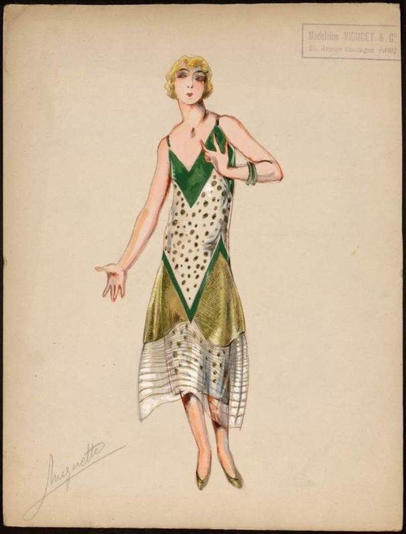 855307b10970 H Vionnet είναι μια από τις πρώτες δημιουργούς που προσέφερε συγκεκριμένα  σχέδια ρούχων σε διάφορα χρώματα και μεγέθη