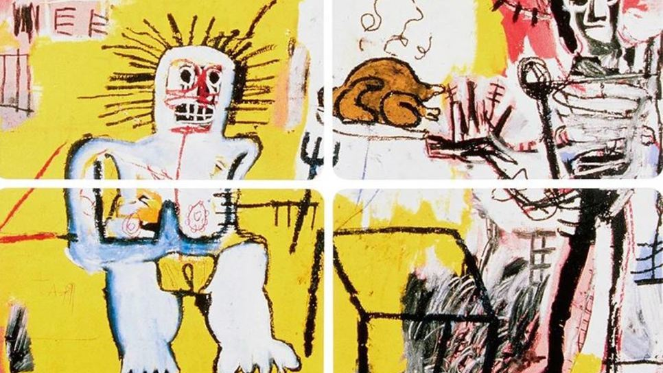 Γίνεται έργο τέχνης με σκίτσα του Jean-Michel Basquiat