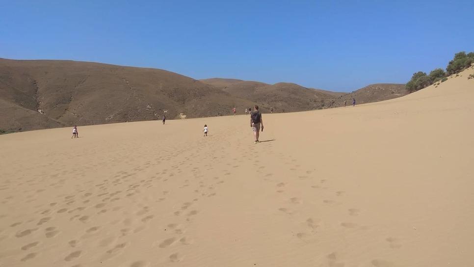 Αποτέλεσμα εικόνας για Η άγνωστη έρημος της Λήμνου όπου γυρίστηκε το «Μια Ελληνίδα στο χαρέμι»