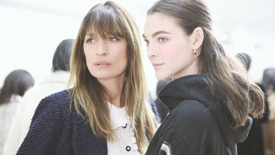 Η Καρολίν ντε Μεγκρέ σε μυεί στο μακιγιάζ της Chanel