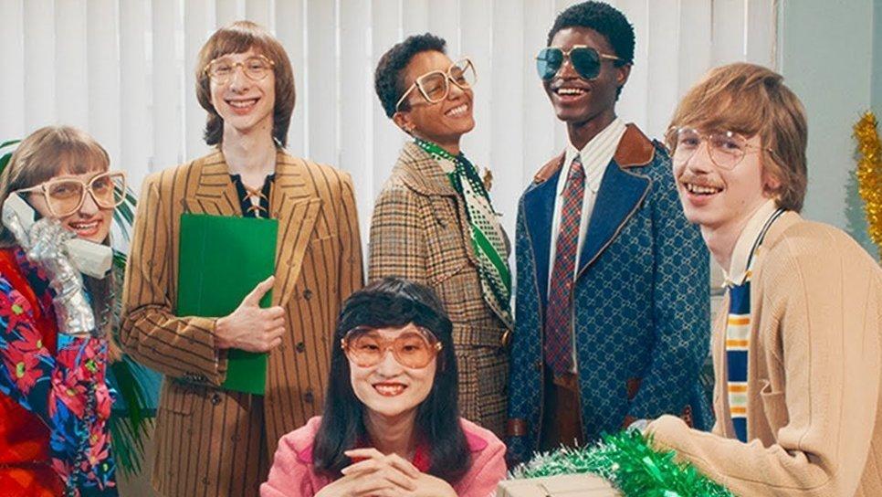 Η νέα καμπάνια Gucci Gift ξεχειλίζει από νοσταλγία