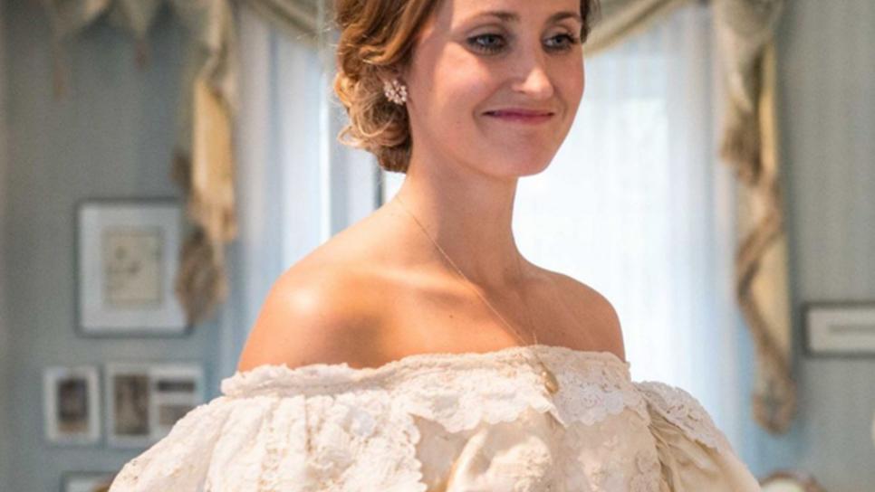Στο γάμο της φόρεσε το νυφικό-κειμήλιο ηλικίας 120 ετών