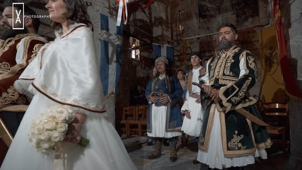 Γάμος αναβίωσε την εποχή της Ελληνικής Επανάστασης