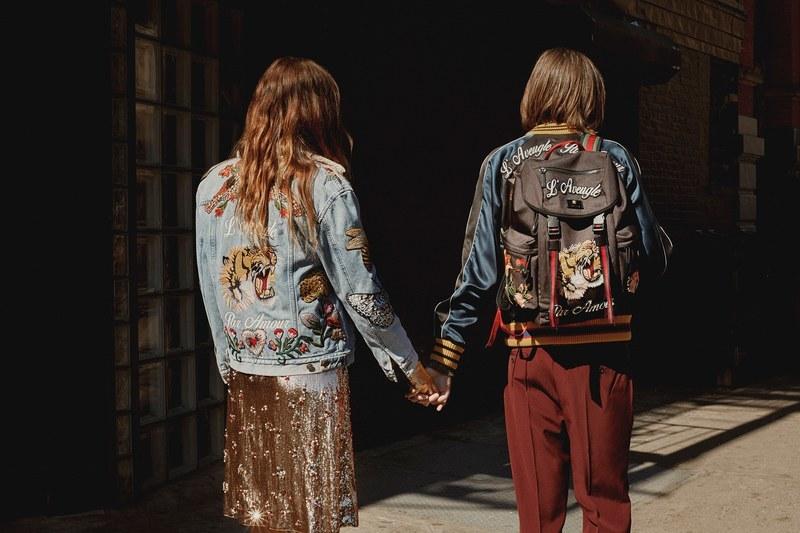 f8bc356b0b2 Ο ιταλικός οίκος μόδας Gucci σε συνεργασία με τον αμερικανικό εκδοτικό οίκο  Condé Nast δημιουργούν μια σειρά τεσσάρων short fashion film σε σκηνοθεσία  Gia ...