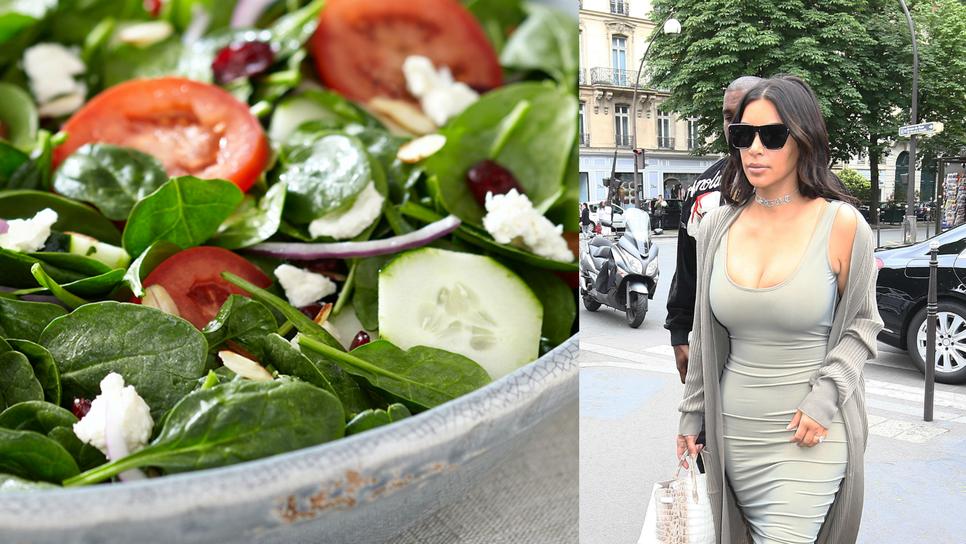 Η σαλάτα που βοήθησε την Κιμ Καρντάσιαν να χάσει κιλά