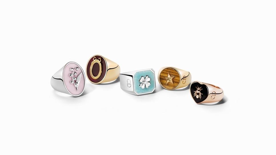 Τα νέα δαχτυλίδια του Dior είναι 7. Ένα για κάθε μέρα