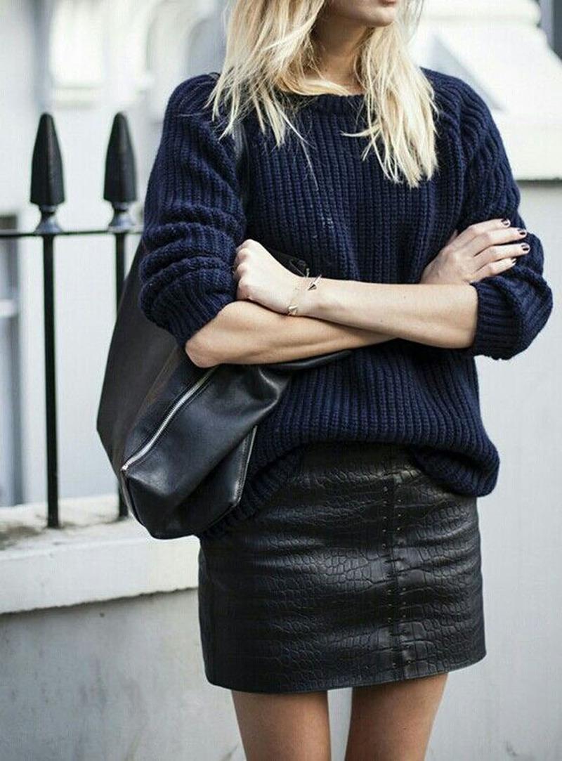 a489b9871b62 Πώς να φορέσεις με στυλ τη μίνι φούστα το χειμώνα, χωρίς να κρυώνεις ...