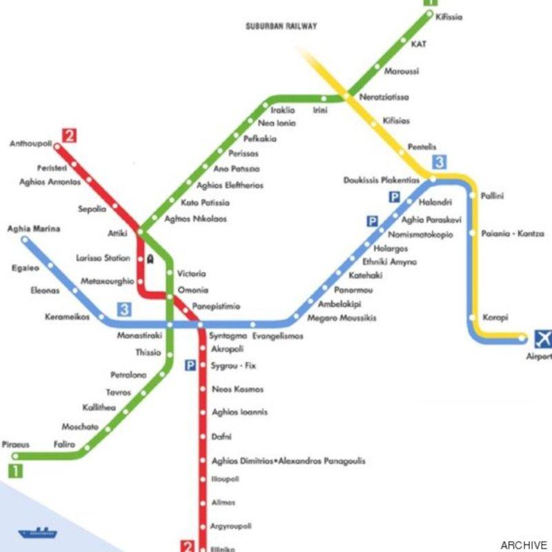 Enas Xarths Toy Metro Poy 8a Se Odhghsei Se Merika Apo Ta Kalytera