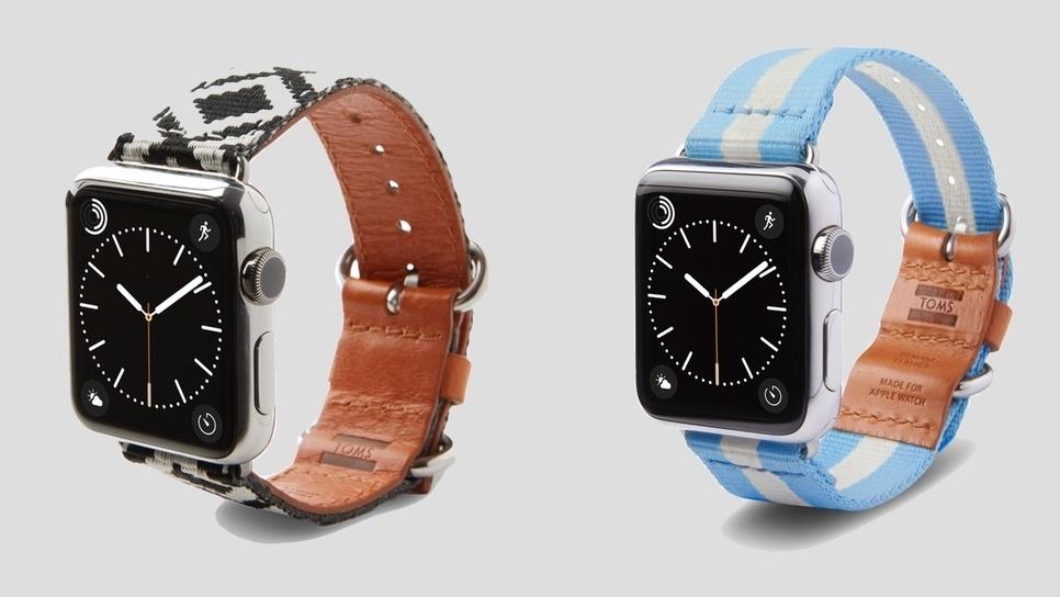 Τα νέα λουράκια της TOMS για το Apple Watch