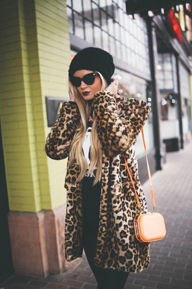 Πώς να φορέσεις το λεοπάρ παλτό χωρίς να πέσεις στη λούμπα του ... 1b382fea493