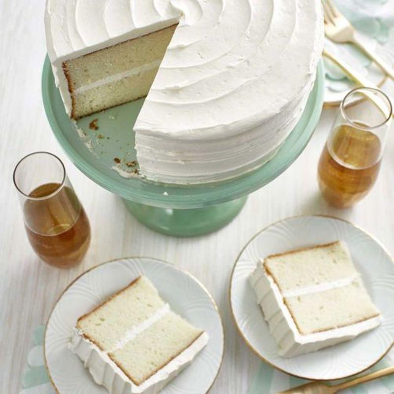 To λευκό βελούδινο κέικ ή το κέικ των αγγέλων είναι μούρλια!