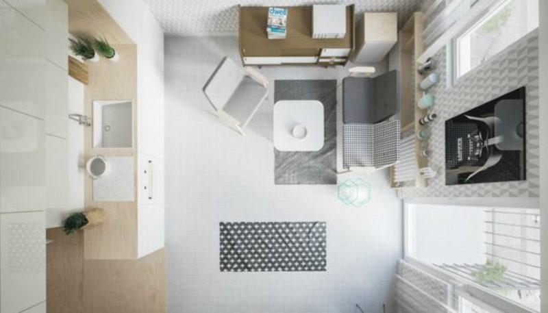 Παλάτι... 20 τ.μ.: Αυτό το μικροσκοπικό διαμέρισμα έχει τρελάνει κόσμο! (Photos)