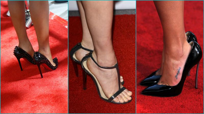 81568c8102b Γιατί οι διάσημες φορούν μεγαλύτερο νούμερο παπούτσια στις δημόσιες ...